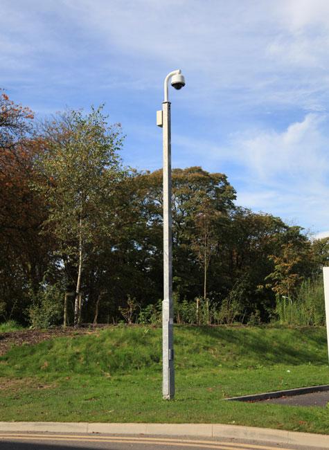 Camera Poles gallery | WEC CCTV Towers, CCTV Poles, CCTV