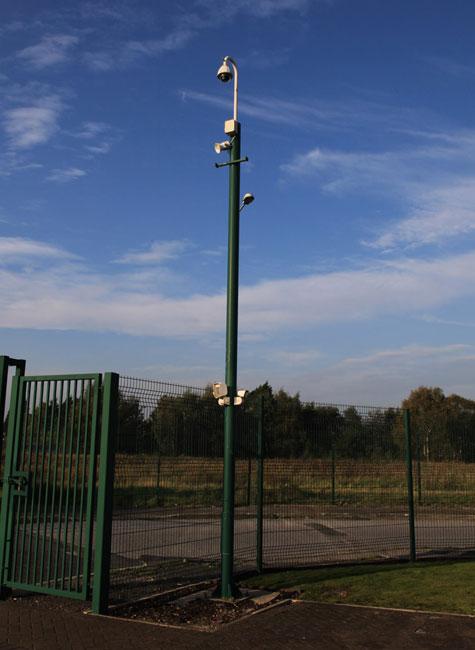 Camera Poles Gallery Wec Cctv Towers Cctv Poles Cctv