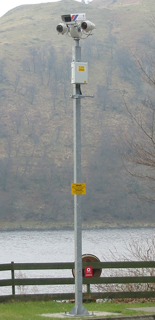 CCTV Poles & Columns